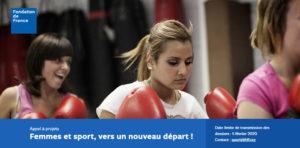 Appel à projets «Femmes et sport, vers un nouveau départ !»