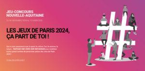 """Jeu-concours """"Les Jeux de Paris 2024, ça part de toi !"""""""