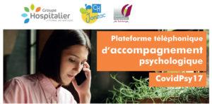 COVID-19 Accompagnement psychologique gratuit.